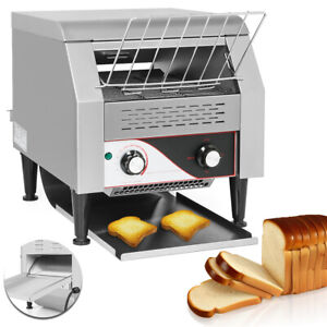 2 2kw Commercial Conveyor Toaster Electric Toaster Restaurant Bagel Food Bread