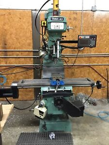 Southwestern Industries Trak K3 Knee Milling Machine With Proto Trak Emx Control