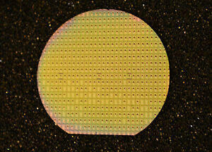 Historic 1 5 Silicon Wafer Vintage 1960s Dtl C261 fch131 By Mullard Of The Uk
