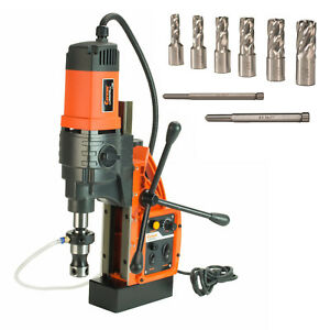 Cayken Kcy 48 2wdo 1 8 Magnetic Drill Press With 7pc 1 Small Annular Cutters