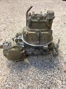 56 Ford Holley 4 Barrel teapot Carb R 1391a