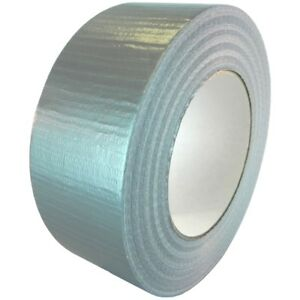 T r u Utility Grade Cloth Duct Tape 2 Wide X 60 Yd Lenght gray