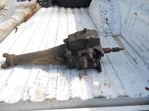 Original Vintage 1955 55 Chevy Chevrolet 3 Speed Manual Transmission Working