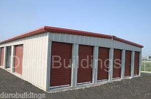 Duro Steel Mini Self Storage Structures 45x180x8 5 Metal Prefab Buildings Direct
