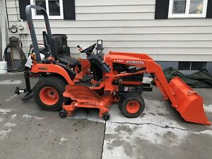 Kubota Bx1830 Tractor With Loader And 72 Mower