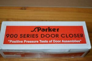 S parker 900 Series Door Closer Aluminum Finish
