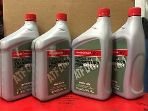 4 Qts Honda Acura Oem Automatic Transmission Fluid Atf Dw 1 08200 9008 Washer