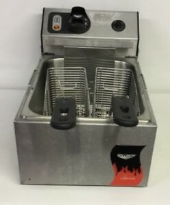 Vollrath Commercial Electric Countertop Cayenne Fryer Ffeb100 Excellent Shape