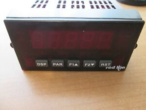 Red Lion Controls Paxt0000 Temperature Panel Meter Led Display Thermocouple Rtd