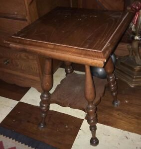 Antique Salesman S Sample Quartersawn Oak Parlor Table No Reserve