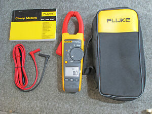 Fluke 374 Clamp Meter iflex Probe Not Included new Other