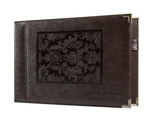 Leather 7 Ring Business Check Binder For 3 On A Page Checks By David Nathan