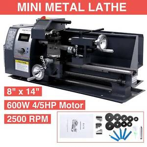 650w 8 X 14 Variable speed Mini Metal Lathe Milling Processing