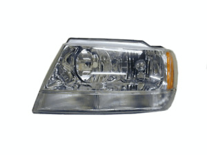 Headlight Left Hand Side For Jeep Grand Cherokee Wj Wg 1999 Onwards