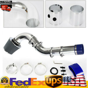 Hot 3 76mm Universal Multiple Combined Cold Air Intake System Pipe Kit W Filte