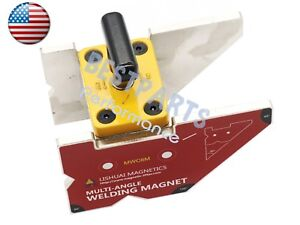 Top Quality Multi angle 45 90 135 Magnetic Welding Clamp 265lbs With Switch