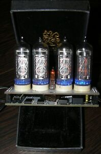 Nixie Clock In 14 14 All Tubes New