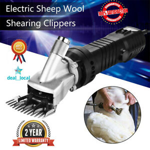 690w Electric Shears Shearing Clipper Animal Sheep Goat Pet Farm Machine Us