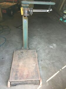 Fairbanks Morse Vintage 1 000 Lb Scale