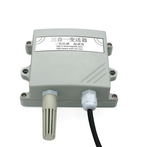 Jp 3in1 Sensor Temperature Humidity Co2 Transmitter Rs485 Output 50000ppm