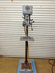 Clausing 16sc Drill Press Floor Model Stk 217186