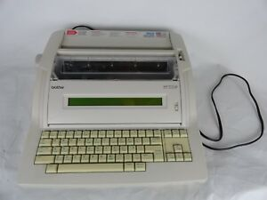 Brother Wp 700d Electric Typewriter Tested Working