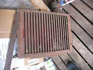 Ih International Farmall Radiator Shutters F20