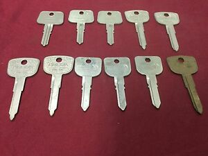Honda By Taylor Esp Curtis Automotive Key Blanks Set Of 11 Locksmith