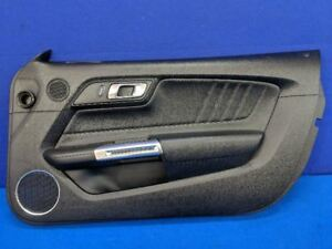 2015 2016 2017 Ford Mustang Gt Leather Premium Passenger Right Door Panel Oem