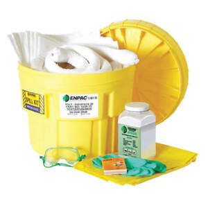 Enpac Spill Kit Chemical Hazmat Safety Dot Spcc Npds Free Shipping