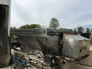 Hiway Salt Spreader Super P 2 5 Yard