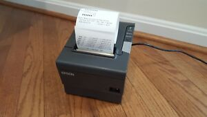 Epson Network Thermal Receipt Printer Tm t88v Pos W Ethernet Ac b Stock