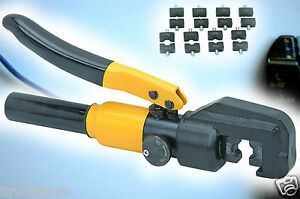 Hydraulic Wire Cable Crimper Tool 16000 Lbs Crimping Force High Quality