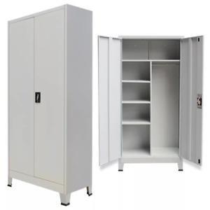 New Steel Locker Office Filing Cabinet Organizer Storage 6 Compartments
