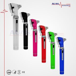 Fiber Optic Mini Otoscope Bright Whitest Led Illumination Diagnostic