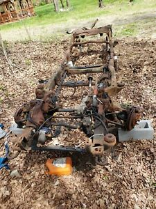 1996 Or 1998 Blazer S10 4x4 Frame Rear End Front Suspension Rear Differential
