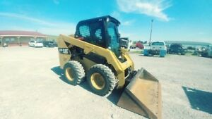 2014 Caterpillar 236d Cab A c Skid Steer Loader Tractor 74hp Used