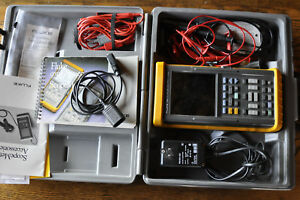Fluke 99b Scopemeter Series Ii 2 Channel 100mhz