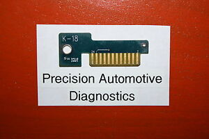 K 18 Personality Key For Snap On Scan Tool Mt2500 Mtg2500 Modis Solus Pro Verus