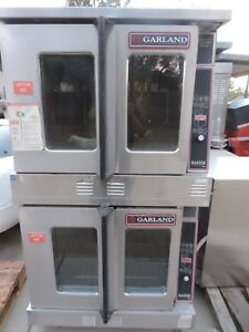 Convection Oven Double Stack Garland model Mco go 10e Natural Gas