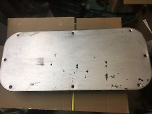 Ford F100 Truck Door Panel Inspection Plate Cover 1961 62 63 64 65 66