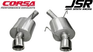 05 10 Mustang Gt 4 6 Gt500 Corsa 2 5 Sport Axle back Exhaust polished Tips