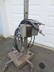 Vintage Allen Electric Portable Spot Welder E 291 Welding Machine 220v
