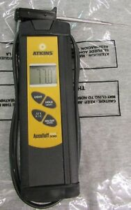 Atkins Temptec Accutuff Plus 330 Type K Thermocouple Thermometer Pre Owned