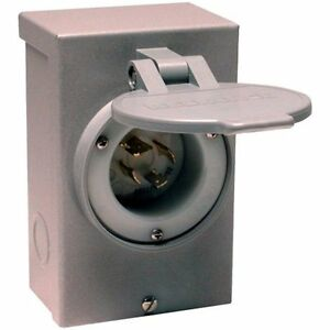 Reliance Electrical Controls Corporation Pb30 30 amp Nema 3r Power Inlet Box For