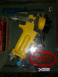 Marlin Systems Pressure Paint Spray Gun Binks Dux Anest Sata Devilbiss