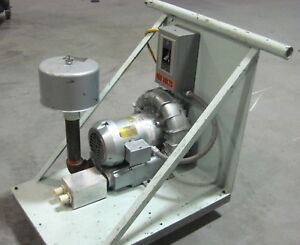 Gast R4310a 2 Regenerative Blower 208 330 460 Volts 3 Phase 1hp 3450 Rpm