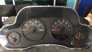 2007 Jeep Wrangler Speedometer Cluster W o Compass 100 Mph Black Or Grey Oem 07