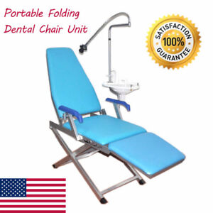 Dental Portable Folding Chair Delivery Unit Ultrasonic Air Compressor Chair Ups