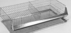 2pk Quail Layer Cages Breeding Pens Hatching Eggs